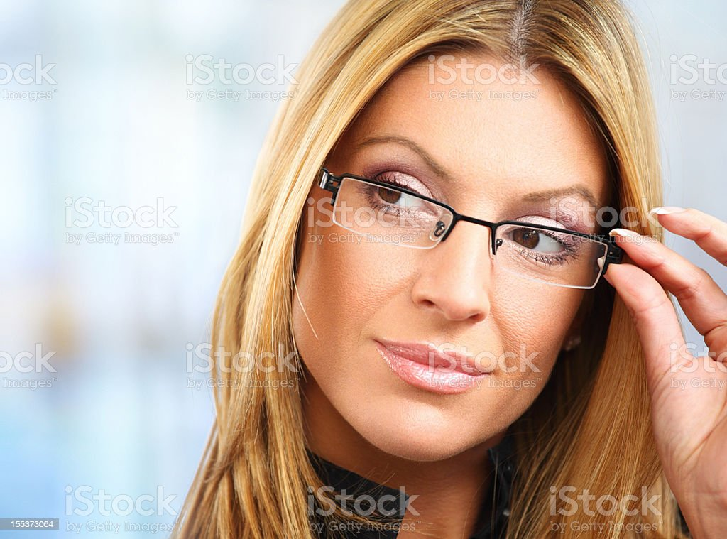 Businesswoman stereotype. royalty-free stock photo