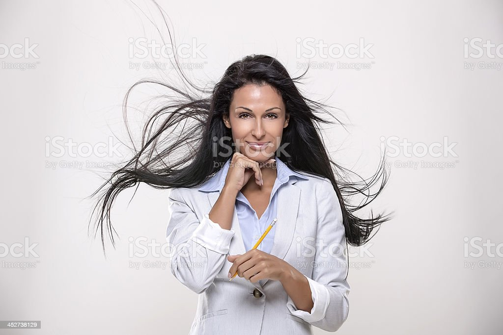 Businesswomen, confidence and job stock photo