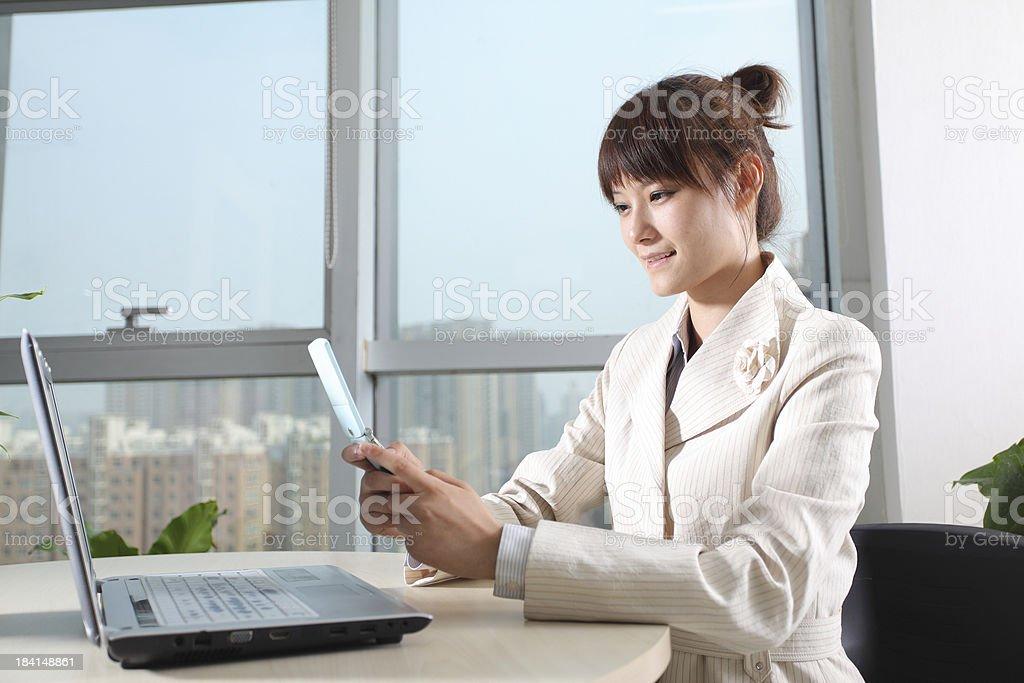 businesswomen in office royalty-free stock photo