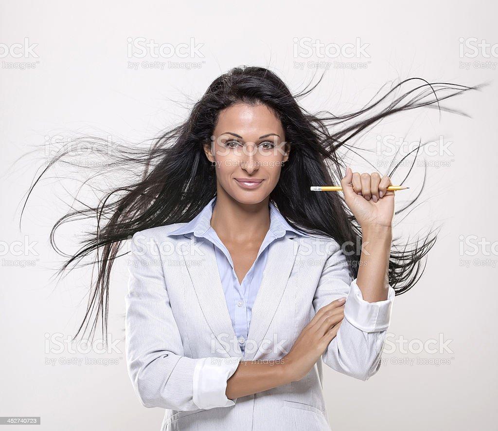 Businesswomen, job and success royalty-free stock photo