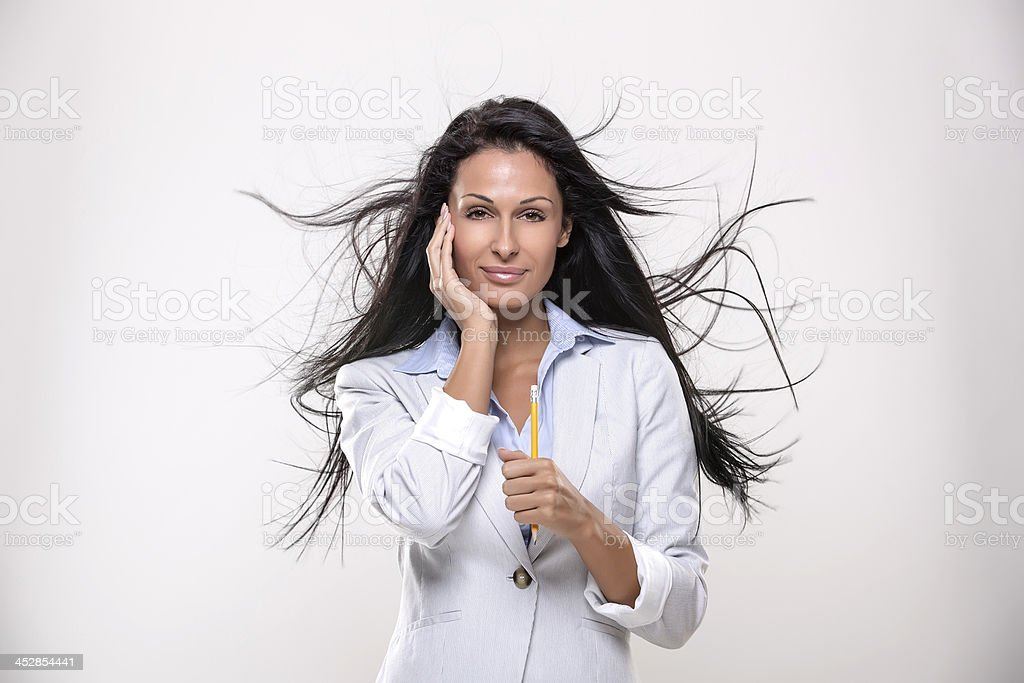Businesswomen, job and success stock photo