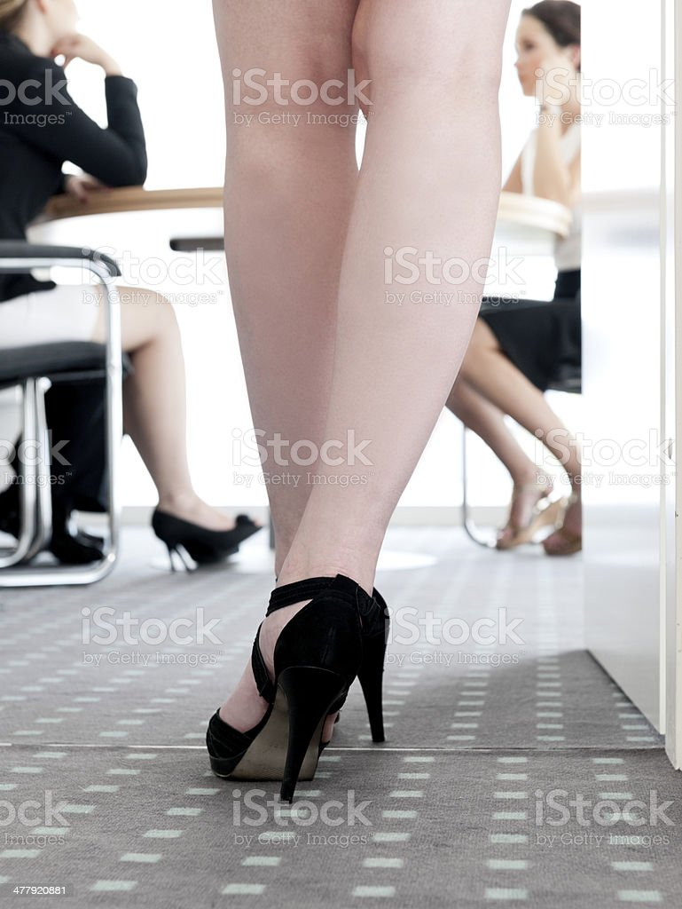 businesswomen meeting in office royalty-free stock photo