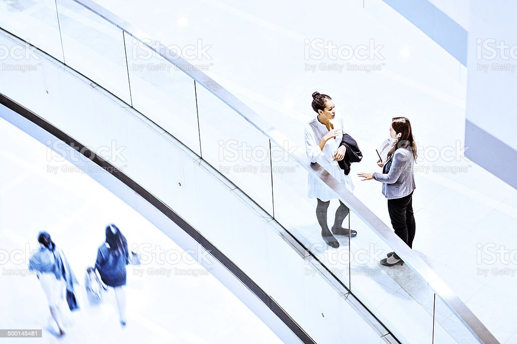 Businesswomen meeting royalty-free stock photo
