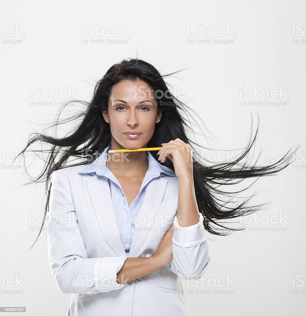 Businesswomen, success and job planning stock photo