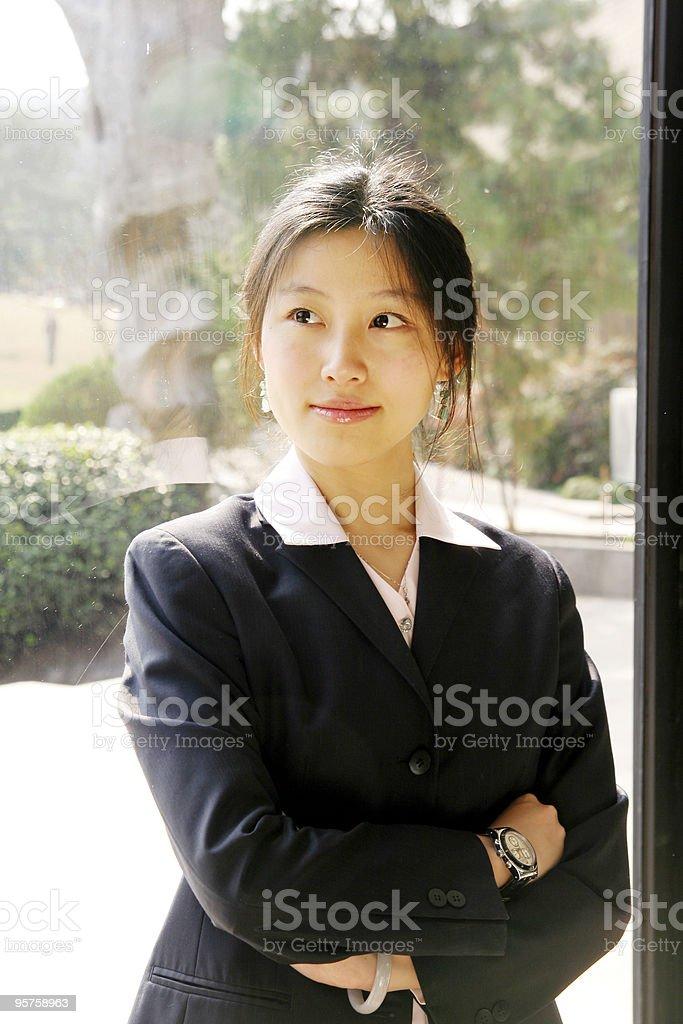 businesswomen's portrait royalty-free stock photo