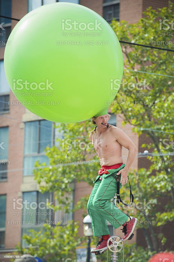 Busker royalty-free stock photo