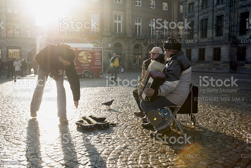 buskers royalty-free stock photo