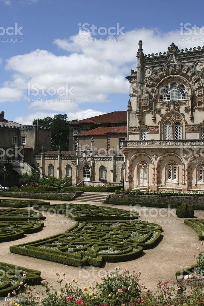 Bussaco Palace, Portugal stock photo