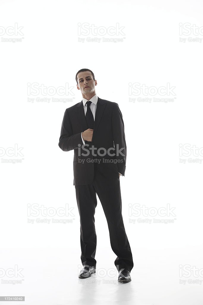 Bussinesman royalty-free stock photo