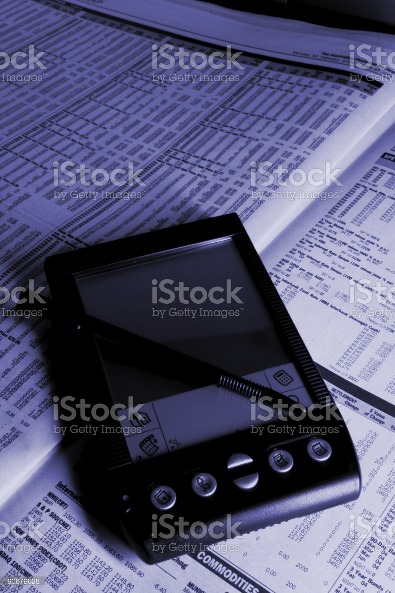 Bussiness Accessories royalty-free stock photo