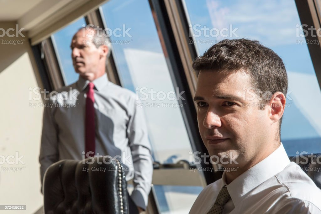 Bussiness men stock photo