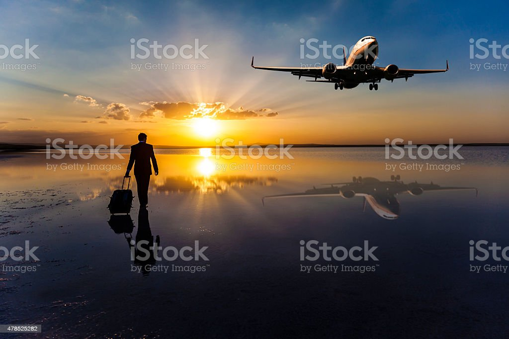 Bussiness Travel stock photo