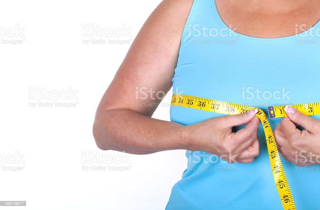 bust measurment royalty-free stock photo