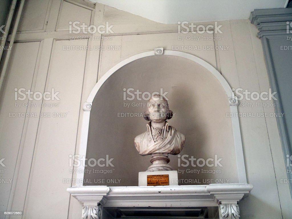 Bust of George Washington, made 1815 stock photo