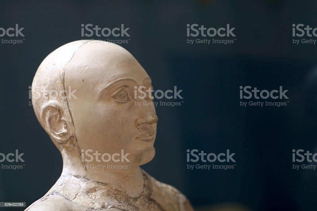Bust of Gudea stock photo