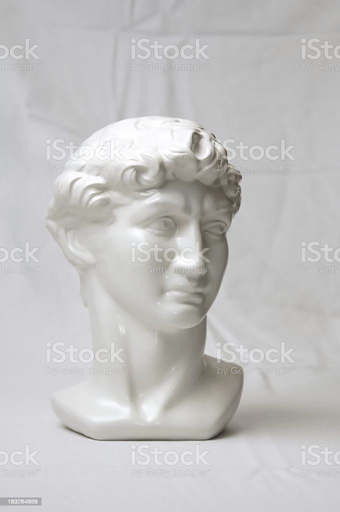 Bust royalty-free stock photo