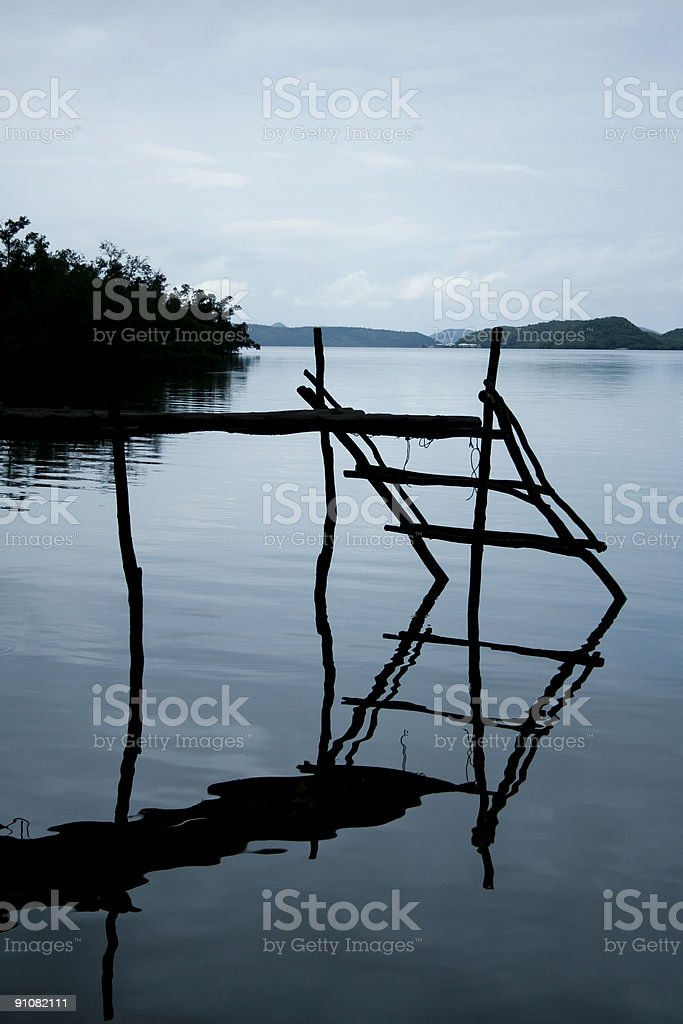 busuanga blue royalty-free stock photo