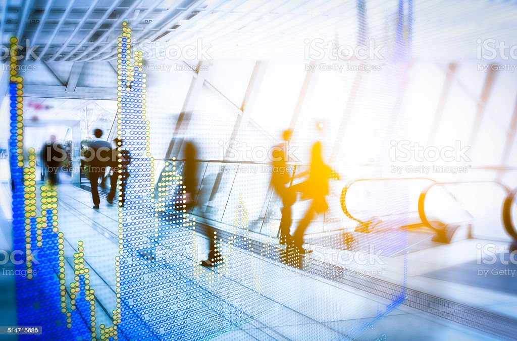Busy City Concepts stock photo