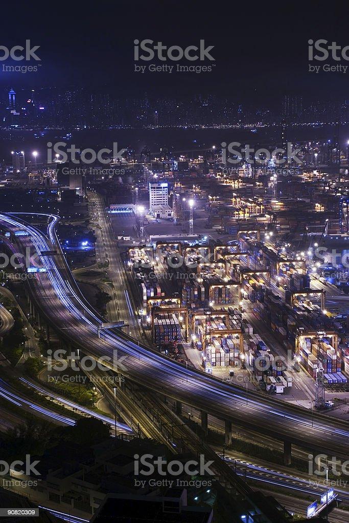 Busy City stock photo
