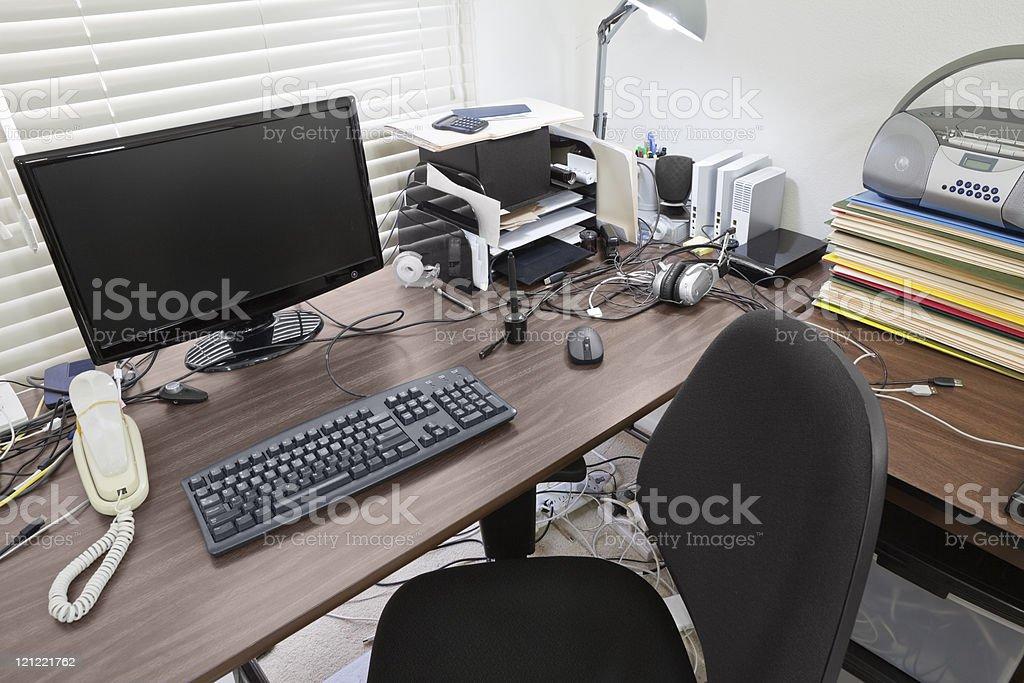 Busy Desk stock photo