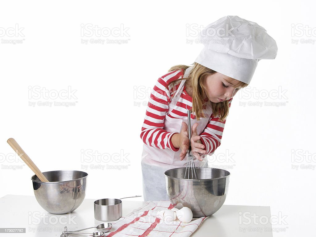 Busy Little Chef royalty-free stock photo