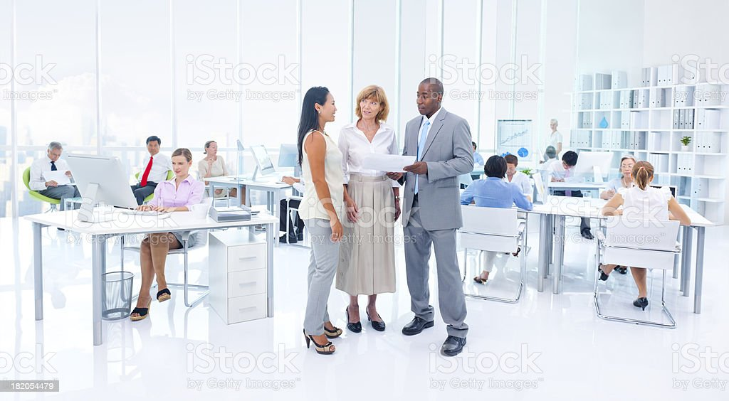 Busy Office. stock photo