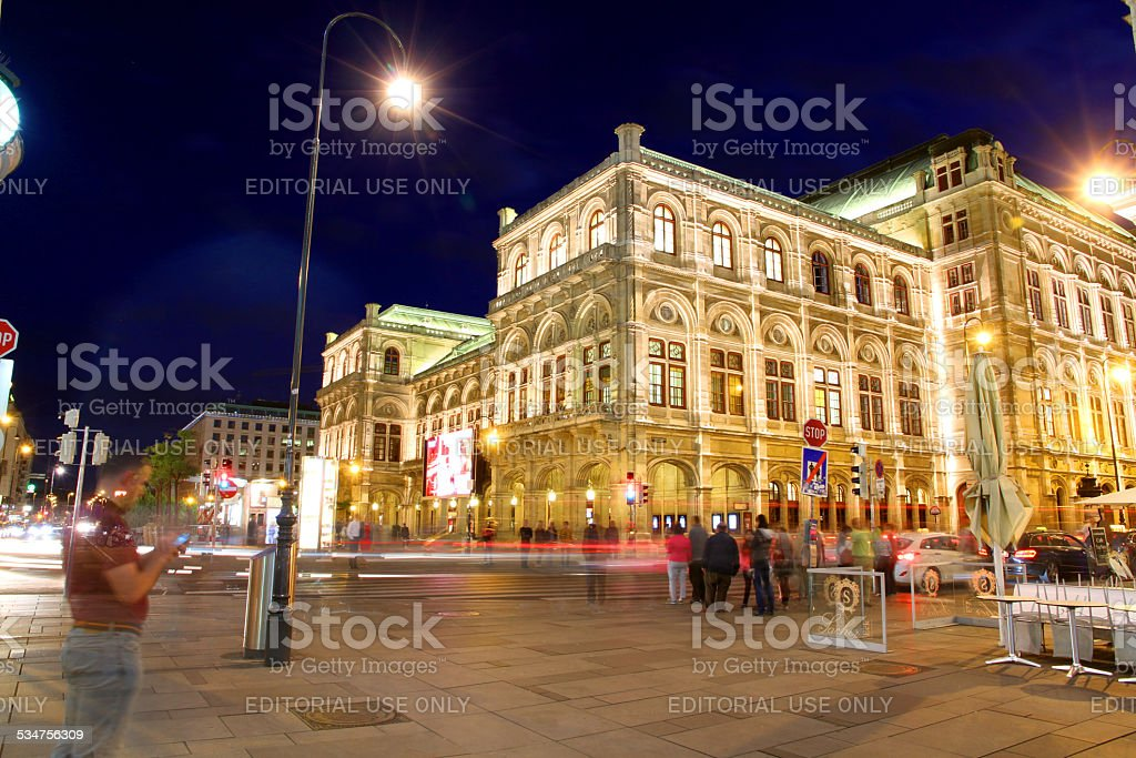 Busy Opera stock photo