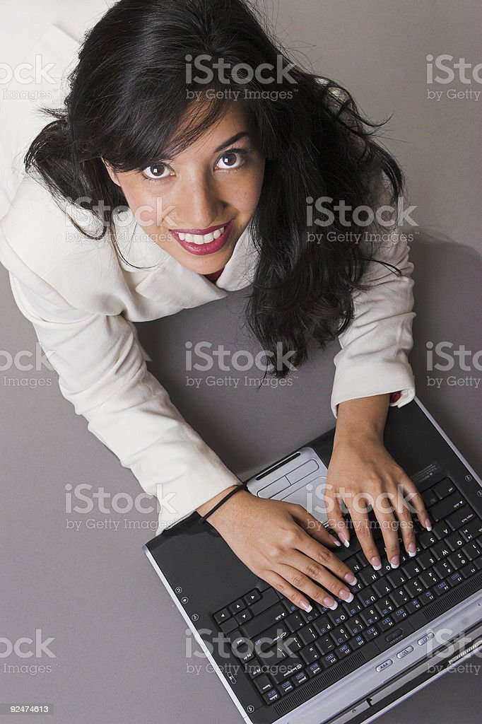 Busy professional royalty-free stock photo