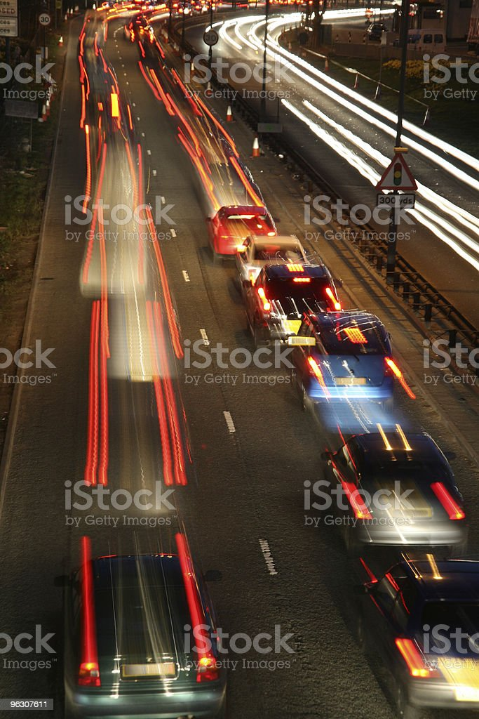 Busy Road royalty-free stock photo