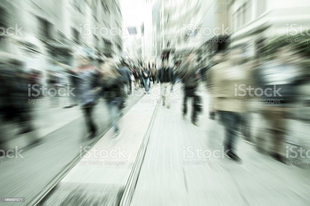Busy Streets stock photo
