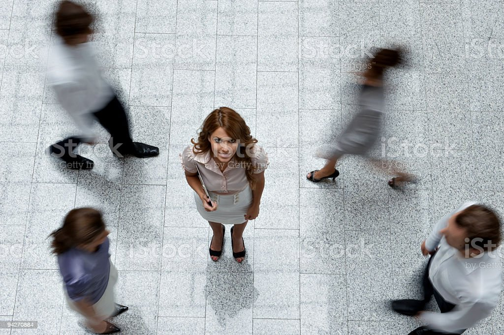 Busy Successful Life stock photo