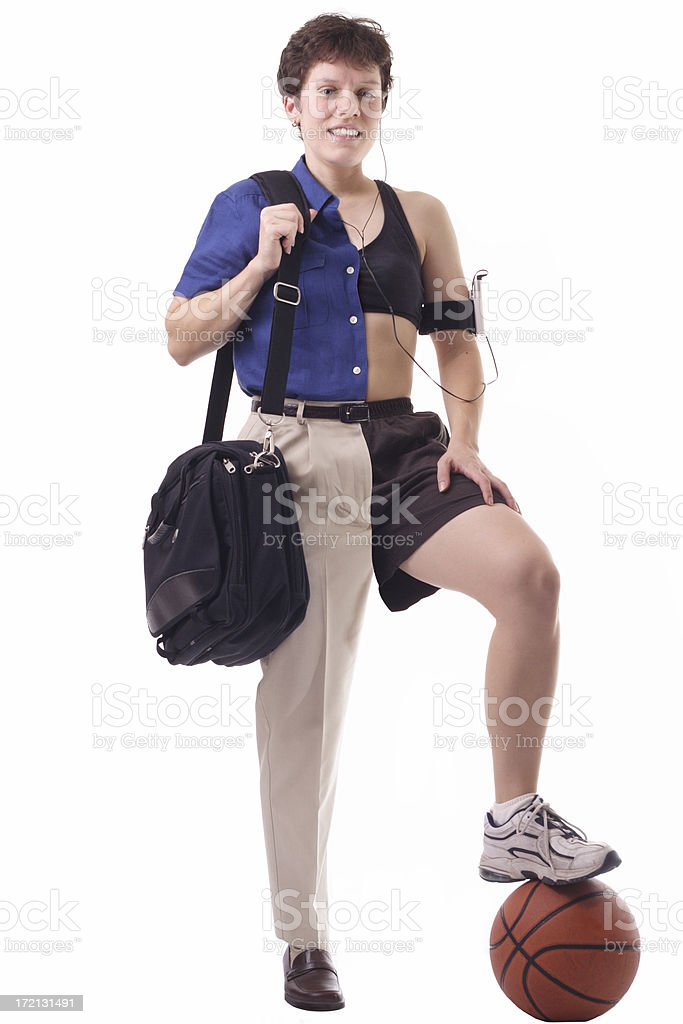Busy Woman royalty-free stock photo