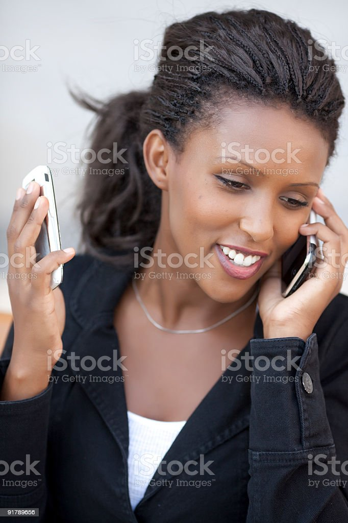 Busy work day royalty-free stock photo