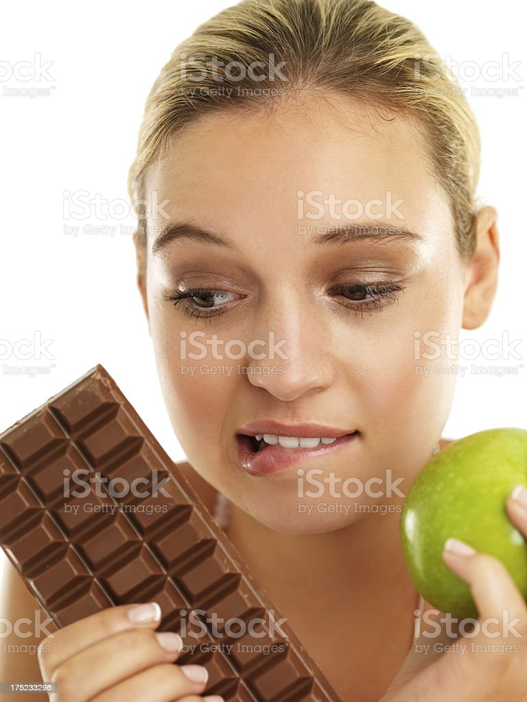 But it's so tasty and sweet! royalty-free stock photo