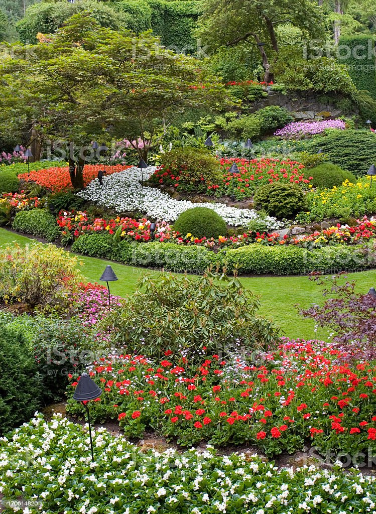 Butchart - Gardeners Heaven! royalty-free stock photo