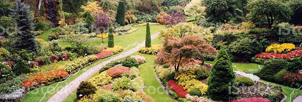 Butchart Gardens 1 royalty-free stock photo