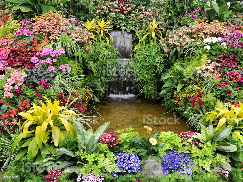 Butchart Gardens royalty-free stock photo