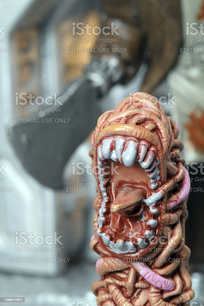 Butcher Hunts stock photo