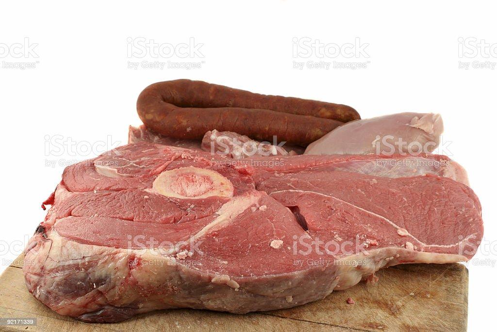 butcher royalty-free stock photo