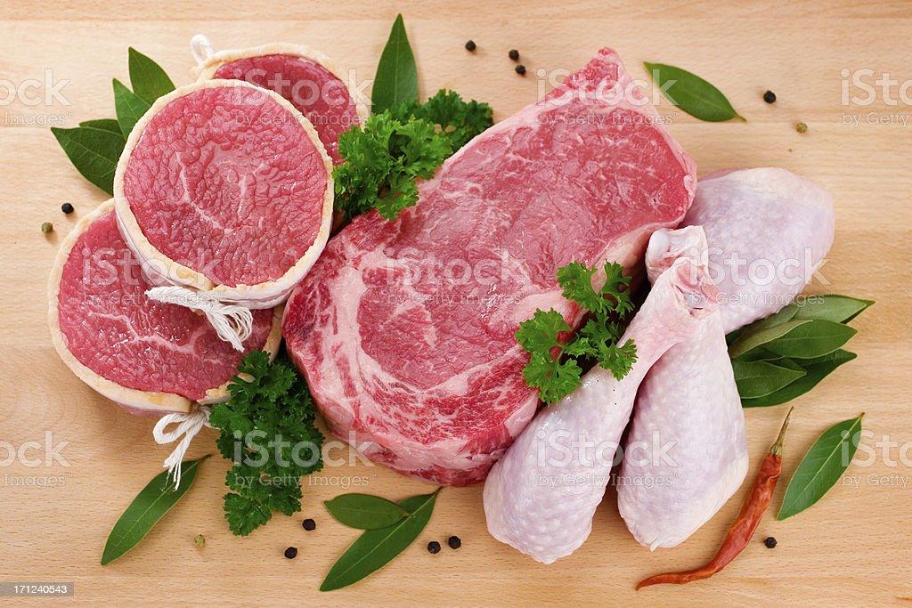 Butcher Selection stock photo