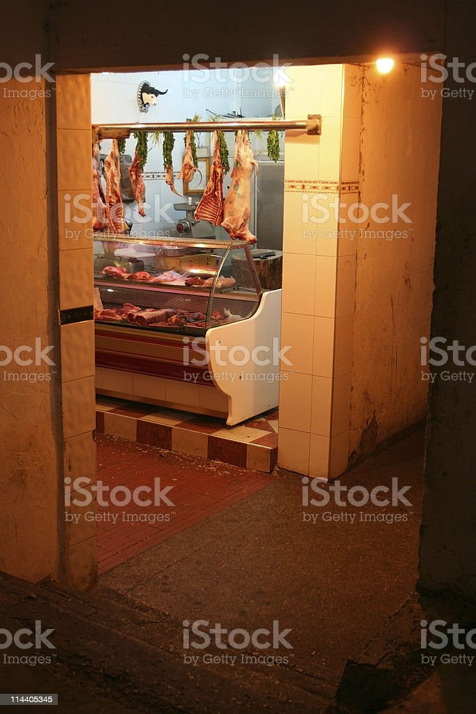 Butcher Shop royalty-free stock photo