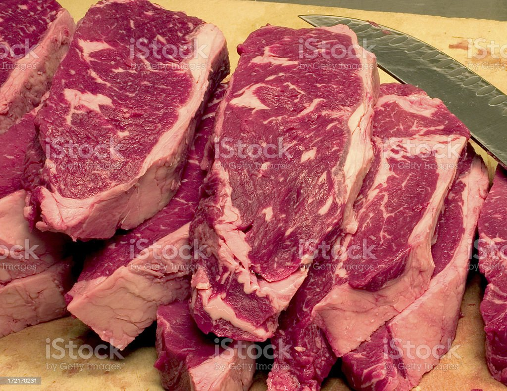 Butchers Block royalty-free stock photo