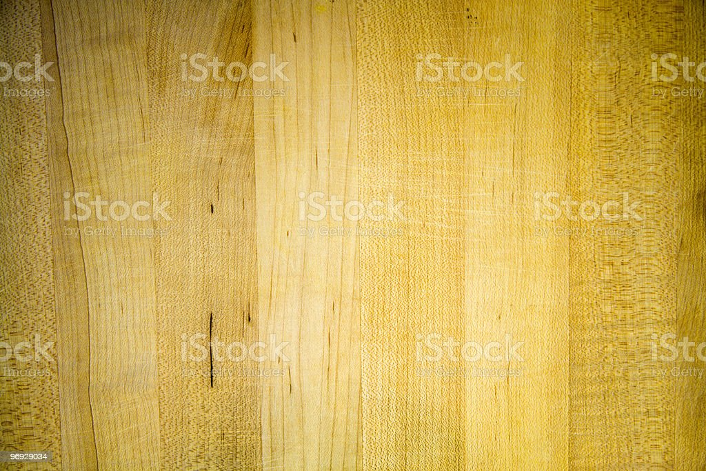 Butcher's Block - Well Used stock photo