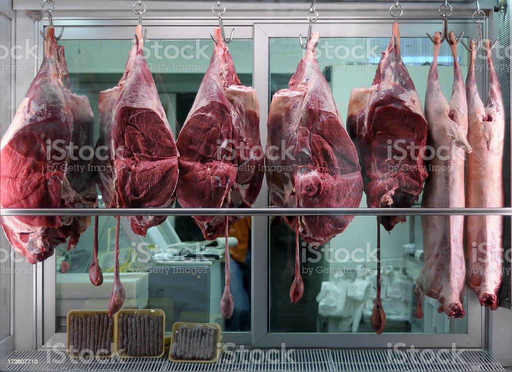 Butcher's Shop royalty-free stock photo