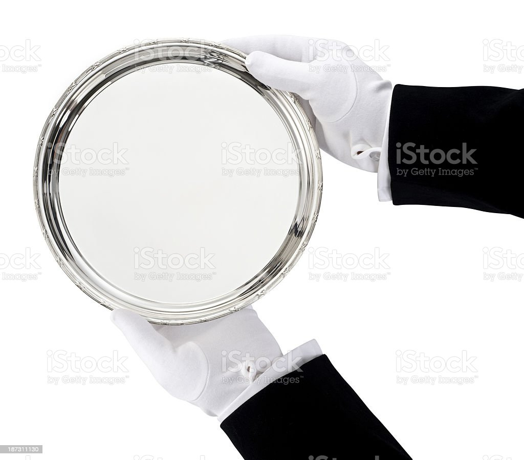 Butler stock photo