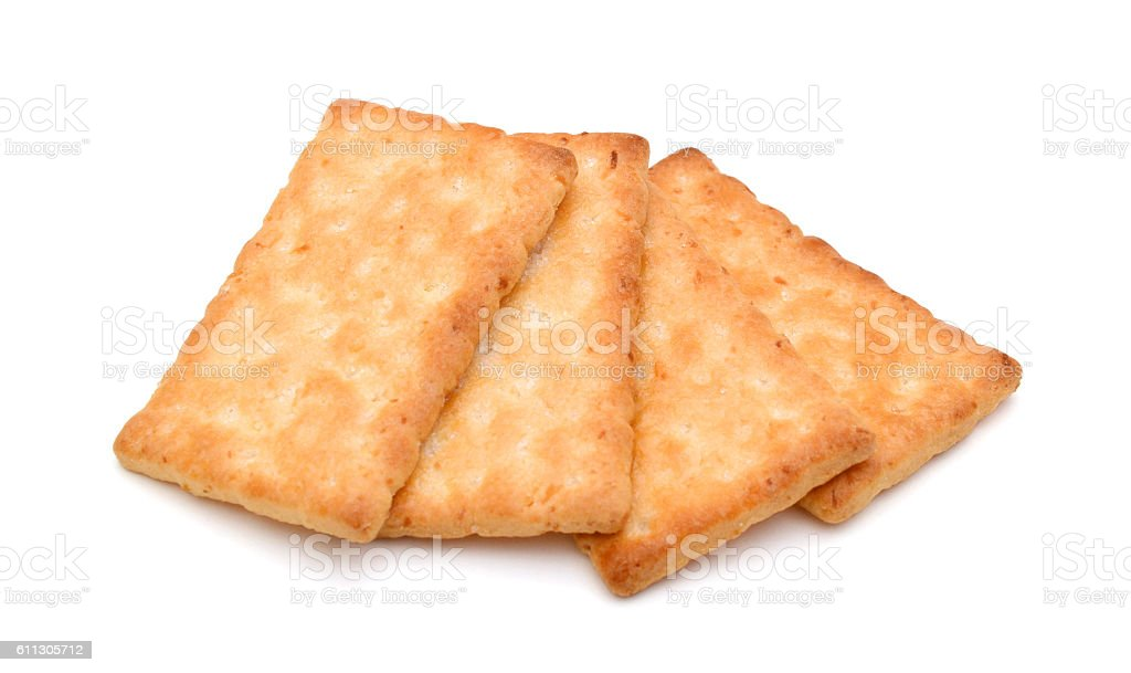 butter biscuits on white stock photo