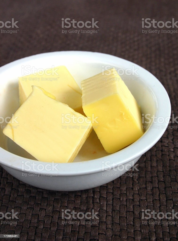 Butter bits royalty-free stock photo