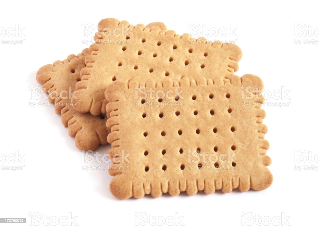 Butter cookies royalty-free stock photo