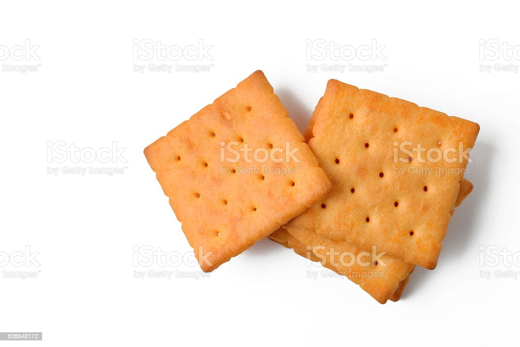 butter cracker stock photo