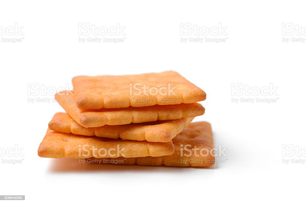 butter cracker stock photo